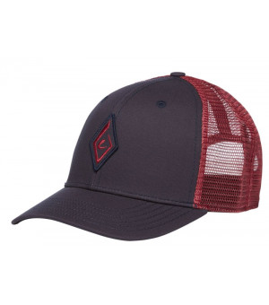 Black Diamond Trucker Hat Carbon Wild šiltovka