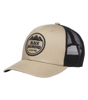 Black Diamond Trucker Hat Dark Cley šiltovka
