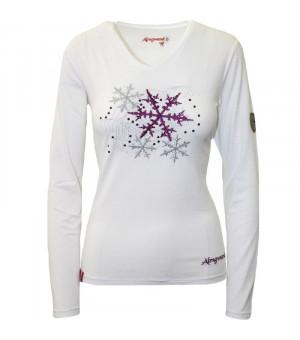 Almgwand Boseckalm White W tričko