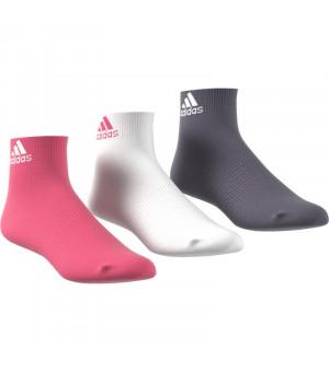 Adidas Per Ankle T Ponožky mix farieb