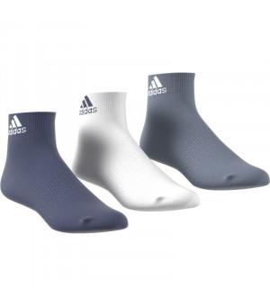 Adidas Per Ankle T Ponožky 3 páry mix farieb
