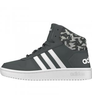 Adidas Hoops Mid 2.0 K sivé