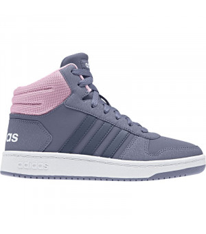 Adidas Hoops Mid 2.0 K sivoružové
