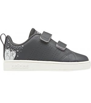 Adidas VS ADV CL CMF INF K sivé