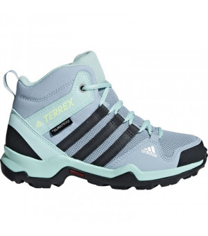 Adidas Terrex AX2R Mid CP Jr. modré