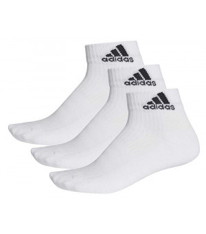 Adidas 3S Perf. Ankle C 3P Ponožky biele