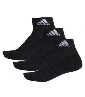 Adidas 3S Perf. Ankle C 3P Ponožky čierne