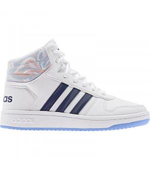 Adidas Hoops Mid 2.0 K biele