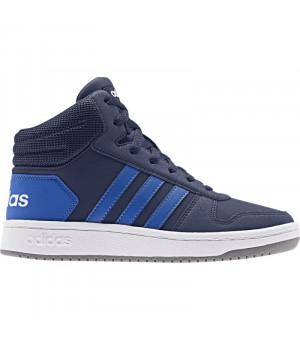 Adidas Hoops Mid 2.0 K modré
