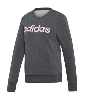 Adidas Essentials Linear Sweat mikina sivá