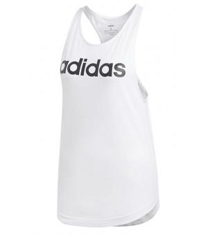 Adidas Essentials Linear tielko biele