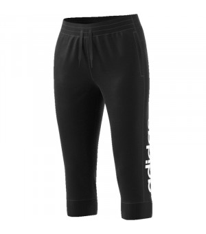 Adidas W E Lin 3/4 Nohavice čierne