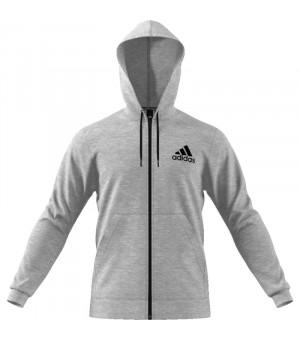 Adidas MH Plain FZ Mikina sivá