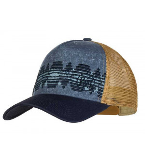Buff Trucker Cap čiapka Tzom Stone Blue