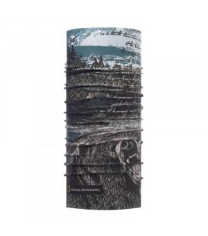 Buff Coolnet UV+National Geographic Šatka Silvertip Multi