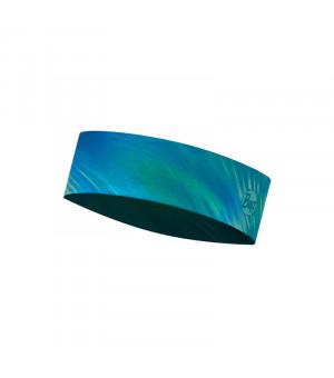 Buff Coolnet UV+ Slim Headband Čelenka Shining Turquoise