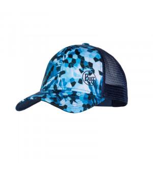 Buff Trucker Cap Čiapka Snapback Mosai Camo Marine Blue