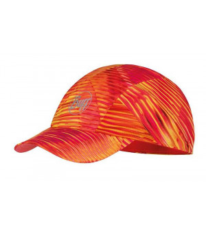 Buff Pro Run Cap Patterned čiapka R-Zetta Coral Pink