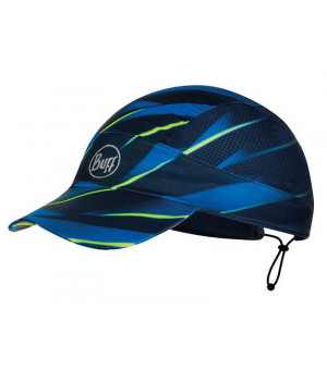 Buff Pack Run Cap Patterned čiapka R-Focus Blue