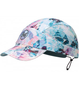 Buff Pack Run Cap Patterned čiapka R-Irised Aqua