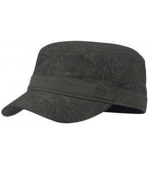 Buff Military Cap čiapka Checkboard Moss Green