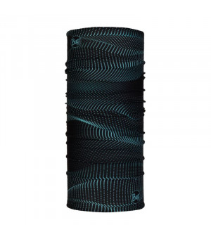 Buff Original Reflective New Šatka R-Glow Waves Black