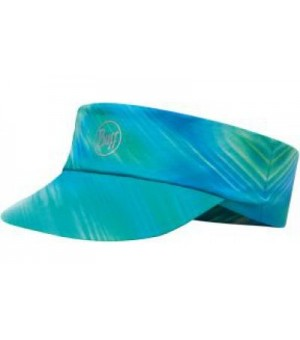 BUFF PACK RUN VISOR PATTERNED R-SHINING TURQUOISE