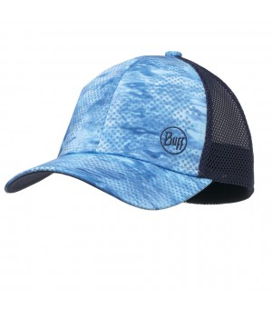 BUFF TRUCKER PELAGIC CAMO BLUE ŠILTOVKA