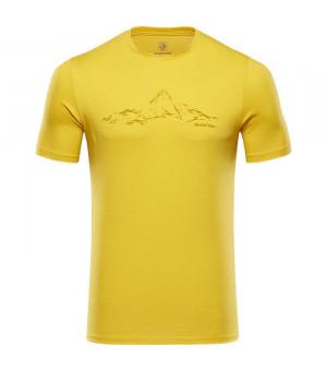 Black Yak Senepol T-Shirt M sulphur tričko