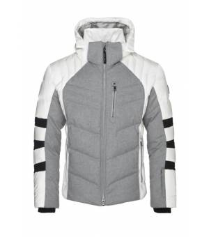 Bogner Bruce M Jacket bunda Grey/White