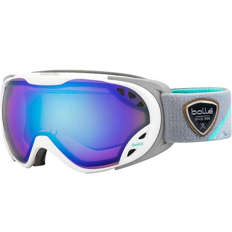 b836d6e6a Dámske lyžiarske okuliare BOLLÉ DUCHESS White & Grey Aurora | Galfy.sk