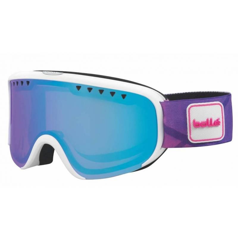 57abd06bc Dámske lyžiarske okuliare BOLLÉ SCARLETT biela fialová | Galfy.sk