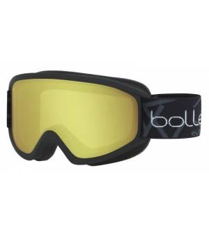 Bolle Freeze Matte Black Lemon lyžiarske okuliare