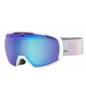 Bolle Laika Matte White Polychrome Aurora lyžiarske okuliare