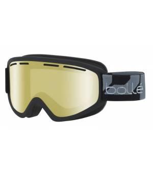 Bolle Schuss Matte Black Lemon Gun lyžiarske okuliare