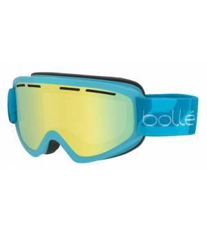Bolle Schuss Matte Blue Sunshine lyžiarske okuliare
