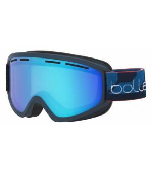 Bolle Schuss Matte Navy Light Vermillon Blue lyžiarske okuliare