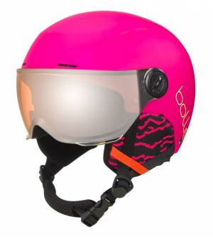 Bollé Quiz Hot Pink 52-55cm prilba 19/20
