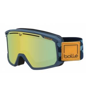 Bolle Maddox Matte Blue Checkerboard Sunshine lyžiarske okuliare