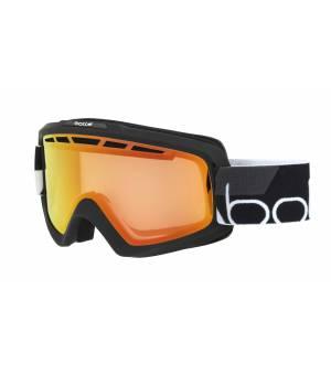 Bolle Nova II Matte Black Photochromic Fire Red lyžiarske okuliare