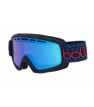 Bolle Nova II Matte Navy & Red Photochromic Vermillon Blue lyžiarske okuliare