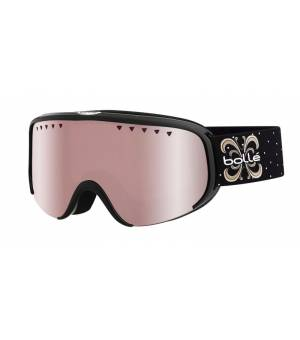 Bolle Scarlett Shiny Black Night Vermillon Gun lyžiarske okuliare