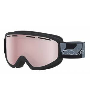 Bolle Schuss Matte Black Vermillon Gun lyžiarske okuliare