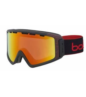 Bolle Z5 OTG Matte Black Red Natura Sunrise lyžiarske okuliare