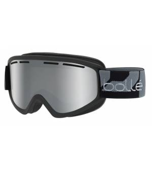 Bolle Schuss Matte Black Black Chrome lyžiarske okuliare