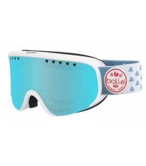 Bolle Scarlett Matte White Triangle Photochromic Vermillon Blue lyžiarske okuliare