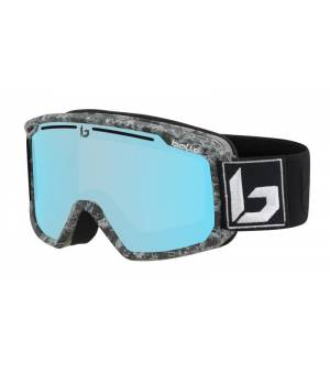 Bolle Maddox Matte Black Marble Photochromic Vermillon Blue lyžiarske okuliare