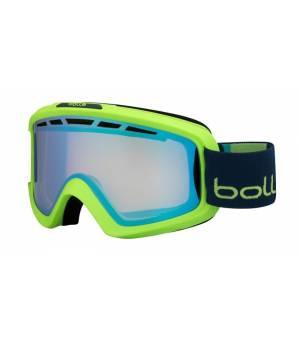 Bolle Nova II Matte Green/Blue Aurora lyžiarske okuliare