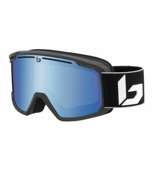 Bolle Maddox Matte Black Corp Light Vermillon Blue lyžiarske okuliare