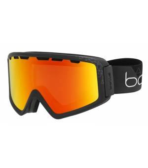 Bolle Z5 OTG Shiny Black Photochromic Fire Red lyžiarske okuliare